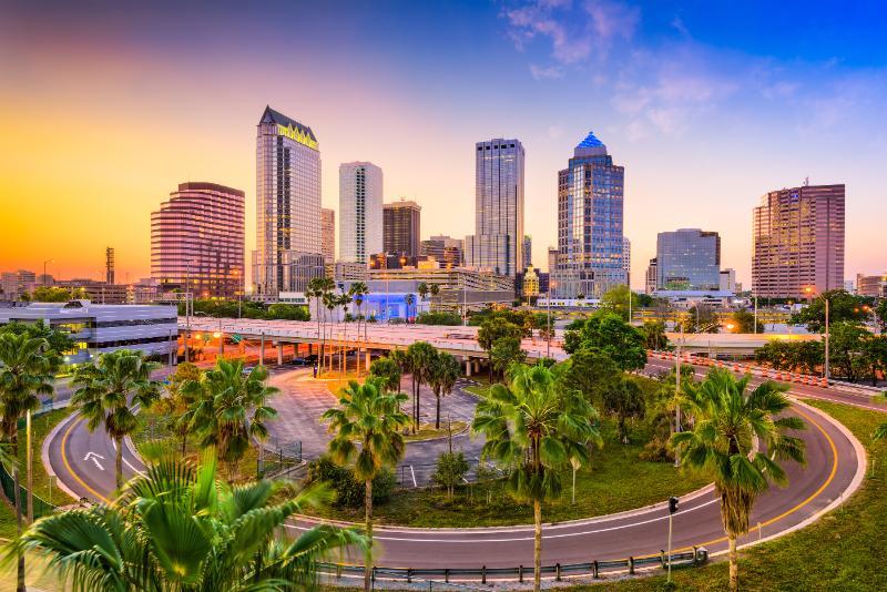 Tampa Florida Downtown Area