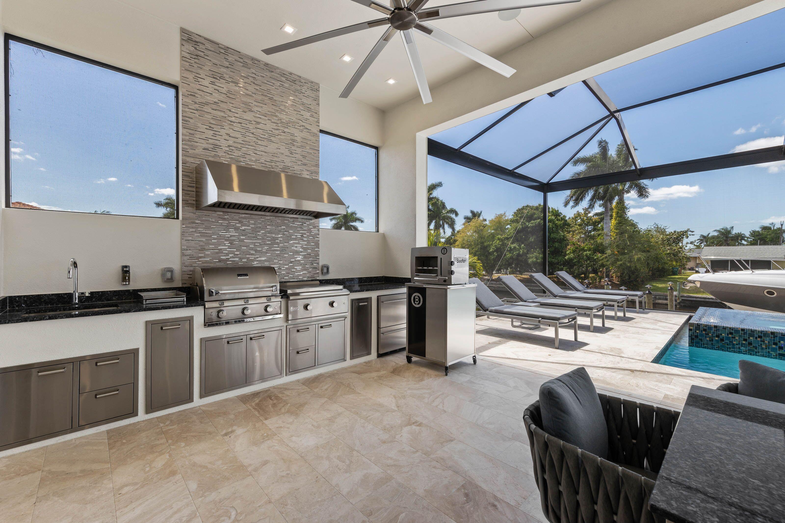 Outdoor kitchen 5366