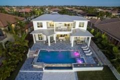 Luxus Pool Aerial