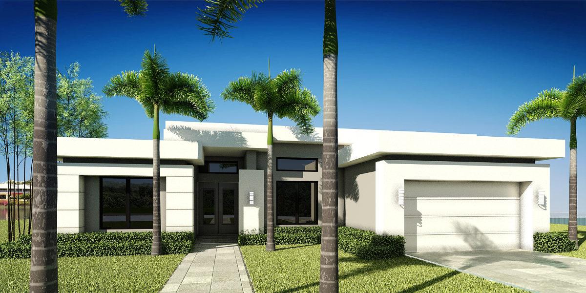 the Villa - Rendering