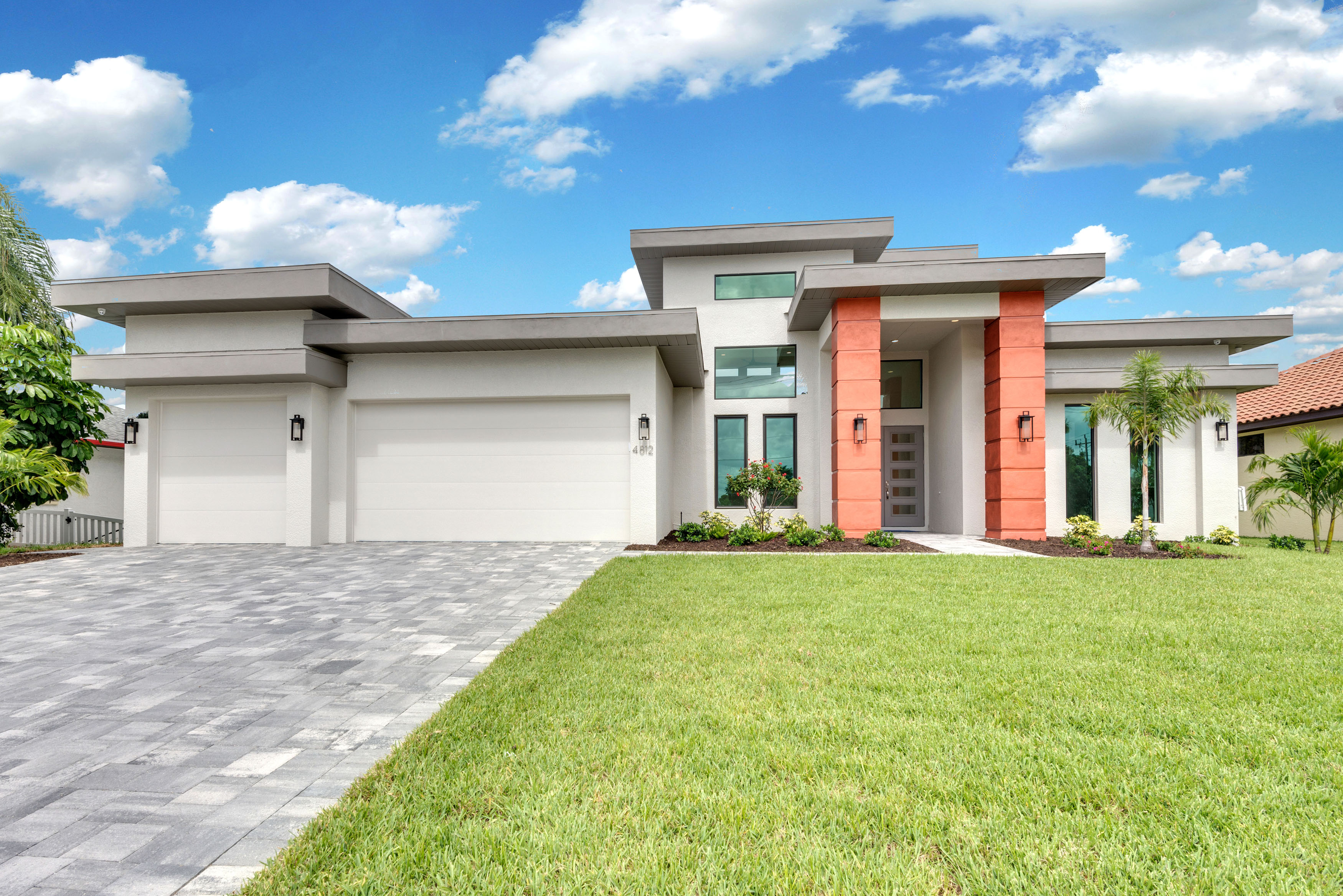 The Vista Southwest Florida Contemporary Custom Home Floorplan