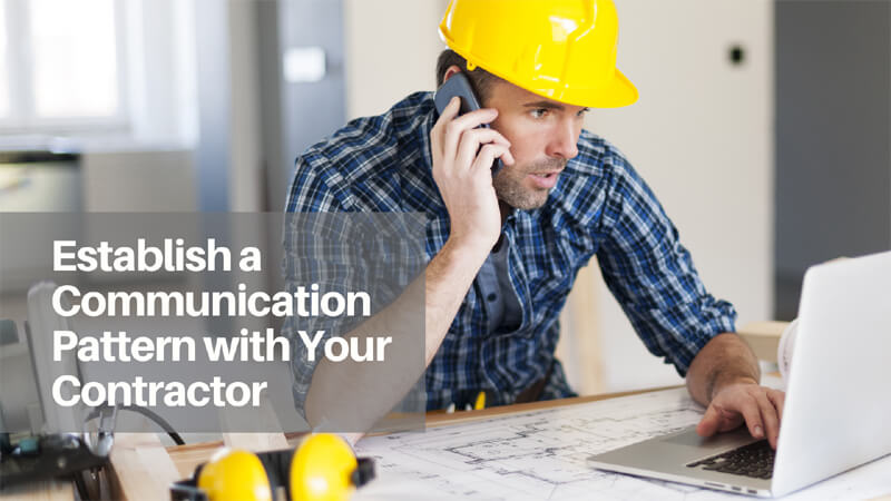 Communication With Home Contractors