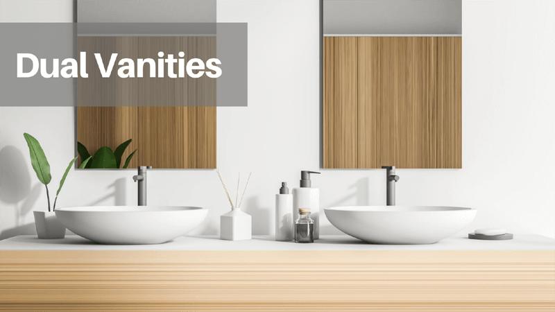 Dual Vanity Bathroom Home Customization