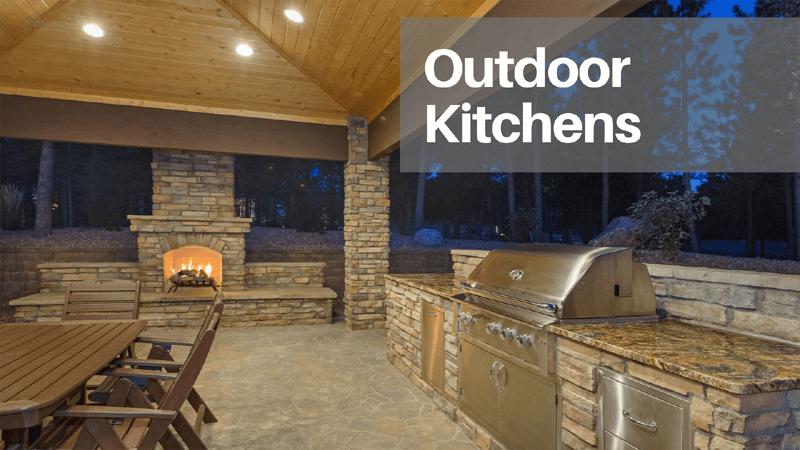 Outdoor Kitchen Home Customization